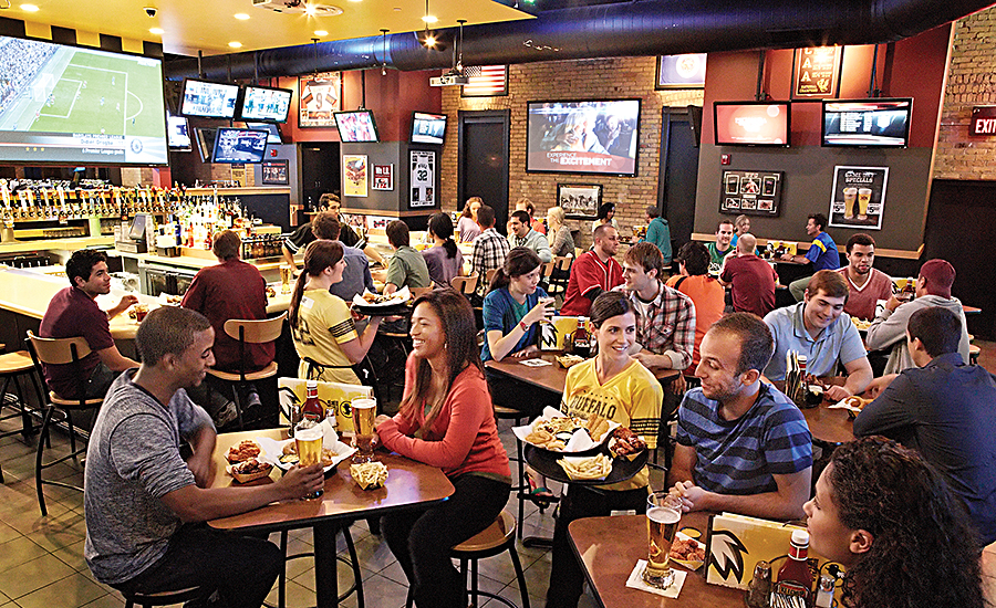 Buffalo Wild Wings offers varied-menu concepts