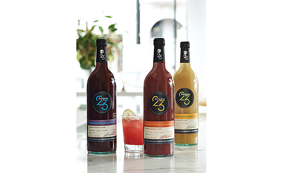 Bungalow 23's craft-quality cocktail mixers