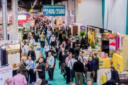 trade show attendees, food and beverage trade show
