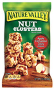 nature valley nut clusters