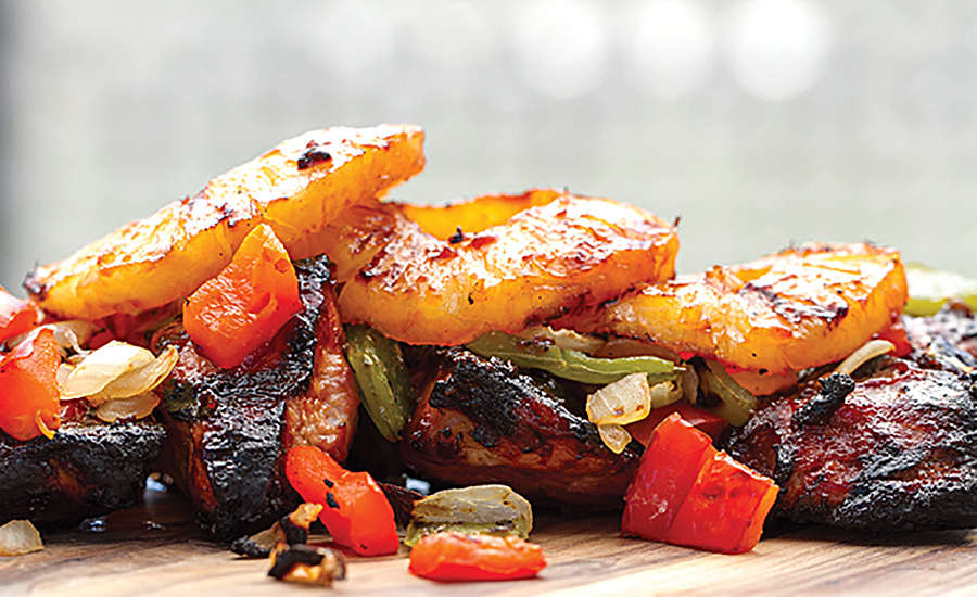 Fruit flavors in barbecue are becoming more popular