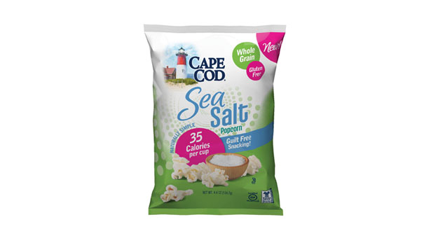 Cape Cod low calorie popcorn, weight reduction