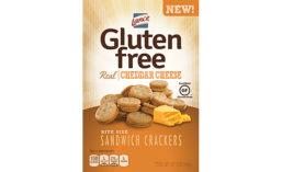 Gluten-free sandwich crackers