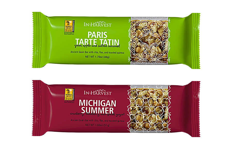 Ancient grains paired with fruit in a bar format