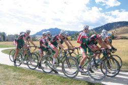 cyclists, bikes