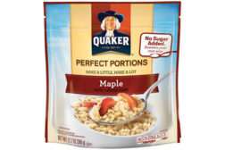 quaker perfect portions oatmeal