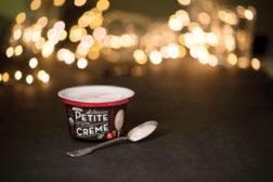 Stonyfield Petite Creme, yogurt