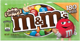 Mars Incorporated crispy M&M's chocolate candies
