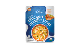 Infant brands such as Plum Organics are expanding to target children with products like Chicken Noodle Soup
