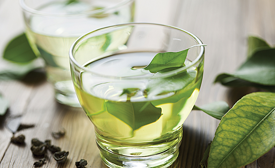 Green tea, a staple in the fortified beverage category, has been studied extensively for its healthful properties, particularly its flavonoids
