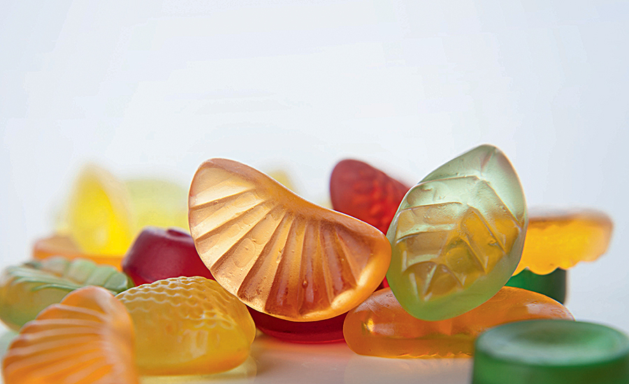 Supplemental fruit-flavored gummy chews