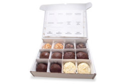 gelato truffles