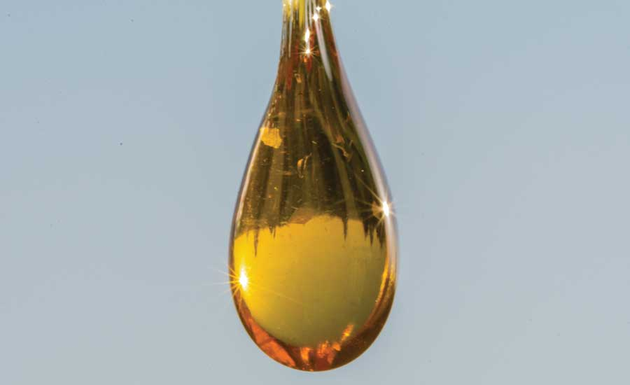 Drop of Cannabis Extract