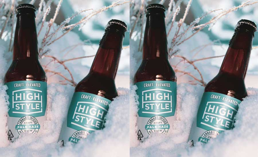 High Style Dealcoholized Cannabis-infused Craft Beer