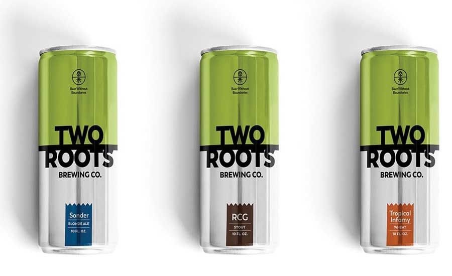 Two Roots CBD- and THC-infused Non-alcoholic Beer