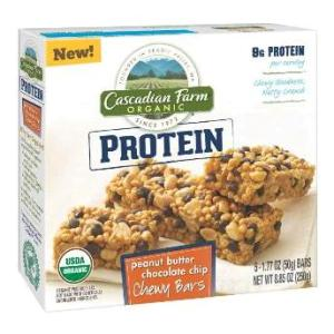 Cascadian Protein Bars in body