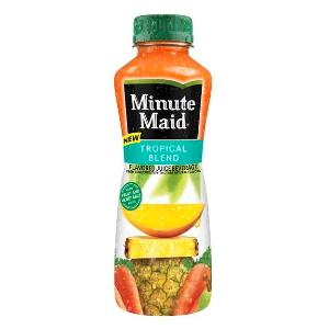 Minute Maid Blends in body