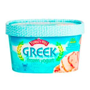 Turkey Hill Greek yogurt in body