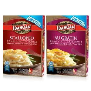 Idahoan Potatoes in body