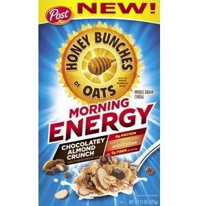 Energy Cereal in body