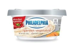 Garden Vegetable Cream Cheese feat