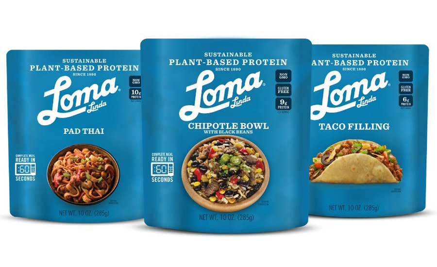 Loma Linda Plant-Based Protein Meal Solutions