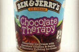 Ben & Jerry's Chocolate Ice Cream