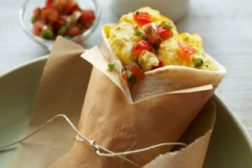 egg & cheese breakfast burrito