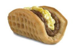 waffle taco, taco bell