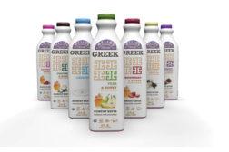 greek kefir bottle, helios