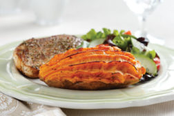 twice baked sweet potato, Rite Stuff foods