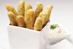 Tantalizers Breaded Dill Pickle Spear, Lamb Weston