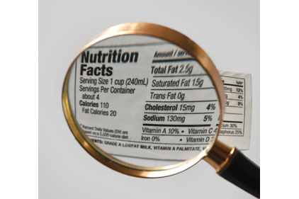 Food Labeling Feature