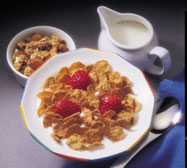 The heat stability of mixed tocopherols means they can be added to cereals during processing.