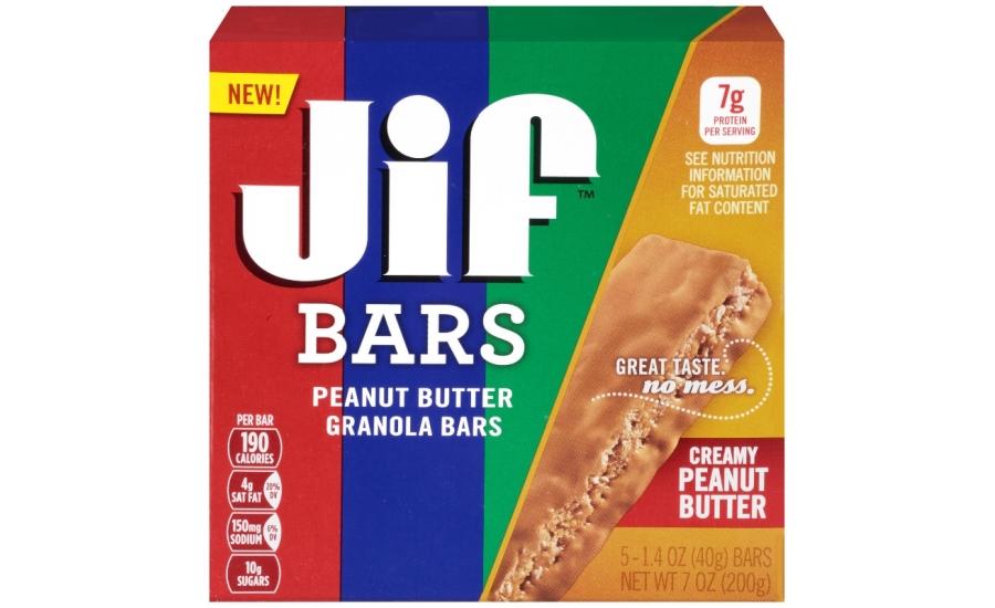 Jif Peanut Butter Granola Bars   2015-09-09   Prepared Foods
