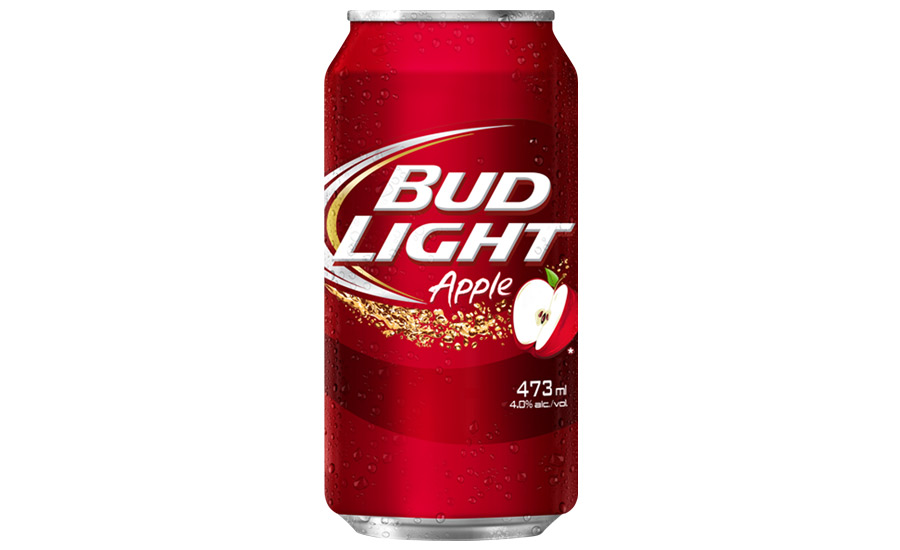 Bud Light Apple Is A Light Bodied 4.2% ABV Beer With A Crisp Apple Taste