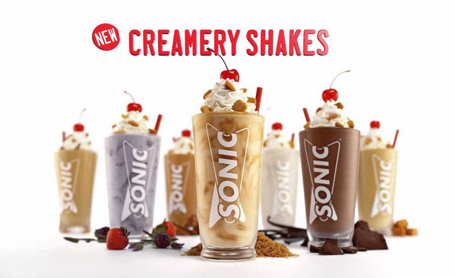 Creamery Shakes from Sonic | 2016-04-21 | Prepared Foods
