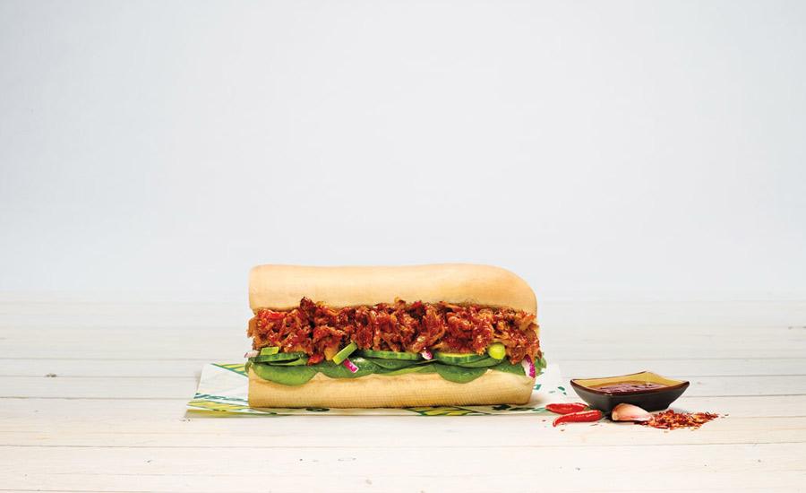 SUBWAY Korean BBQ Pulled Pork Sandwich