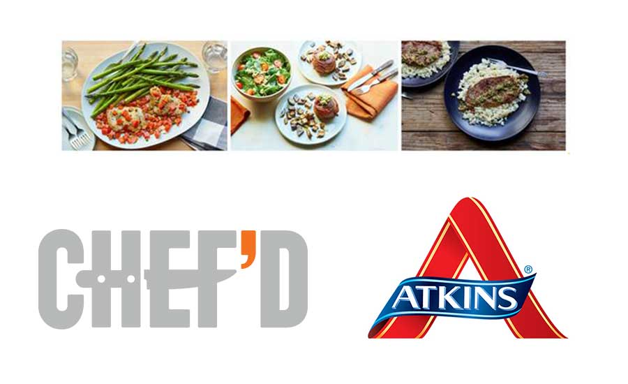 Chef'd, Atkins Nutritionals Meal Kit Alliance