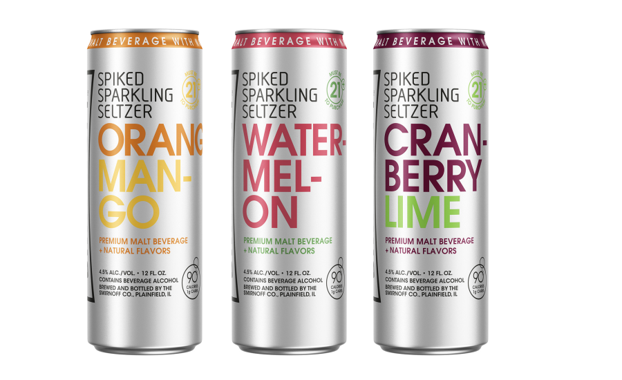 Vodka Drinks With Sparkling Water