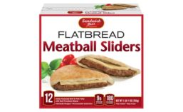 Sandwich Bros. Flatbread Meatball Sliders
