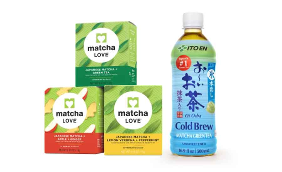 The Two New Matcha Love Tea Bags Are Offered In Lemon Verbena Peppermint And Le Ginger