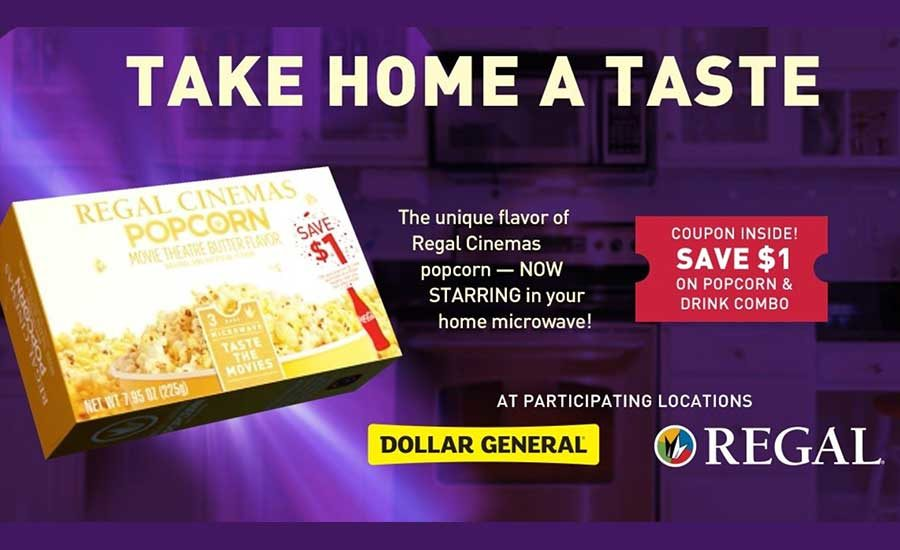 Regal New Microwavable Popcorn 2017 05 17 Prepared Foods