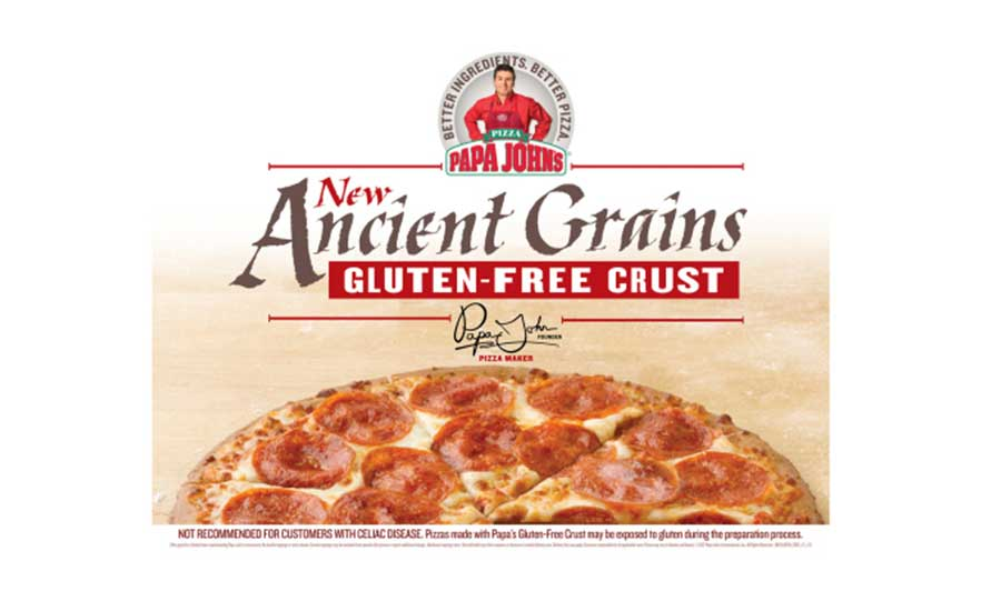 Papa John's Pan Pizza features a new