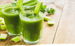 Glasses of Celery Juice