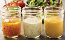 Salad Dressings Made with Soybean Oil
