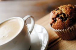 Hot Chocolate and Muffin Feature