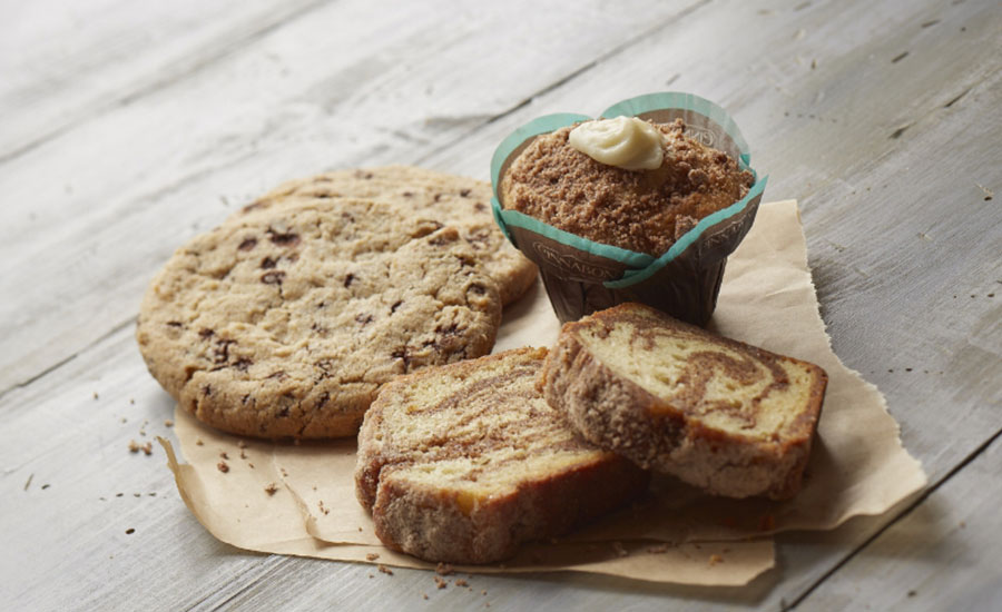 """Cinnabon announced the launch of """"Crafted by Cinnabon,"""" the brand's first line of fresh bakery treats now available in single serve or in multi-serve channels such as grocery, convenience stores, university campuses and other food service outlets."""