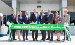 Fuchs North America Ribbon Cutting And Grand Opening Ceremony