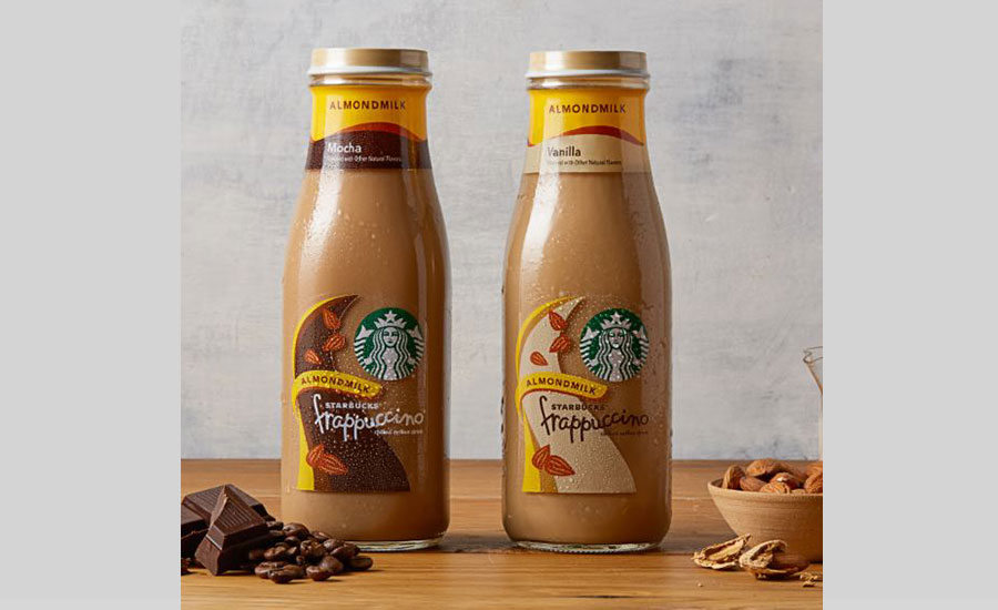 Starbucks Bottled Frappuccino Chilled Coffee Drink with Almondmilk
